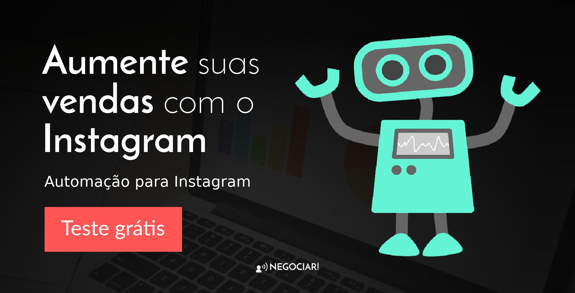 Aumente suas Vendas com o Instagram - Automação para Instagram