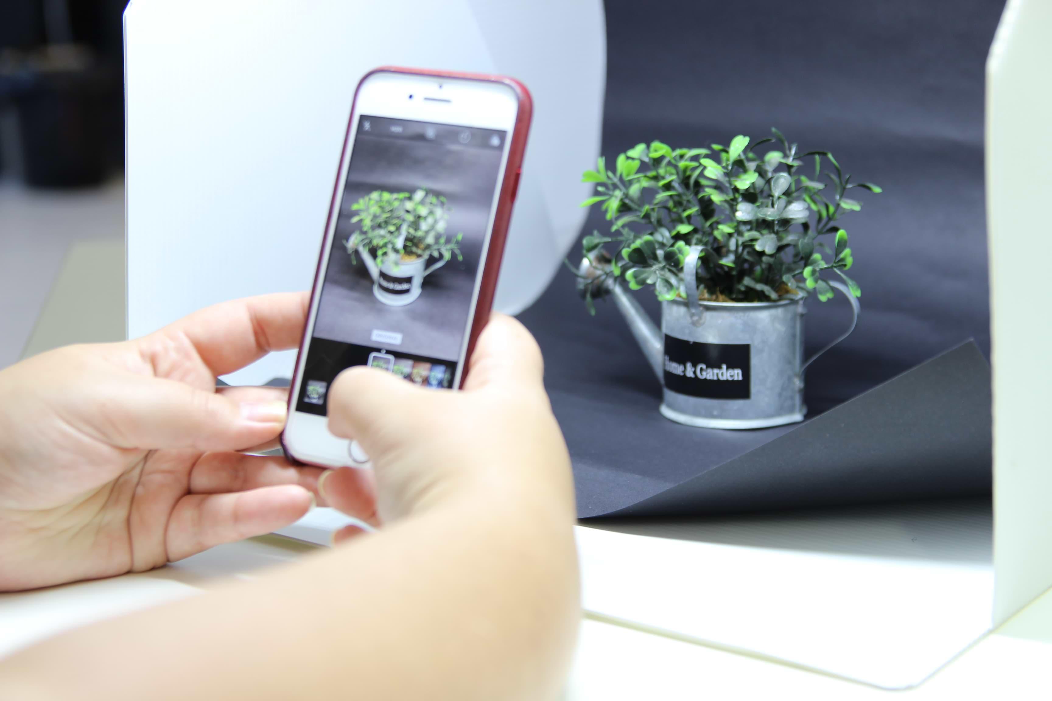 Como tirar fotos para loja virtual